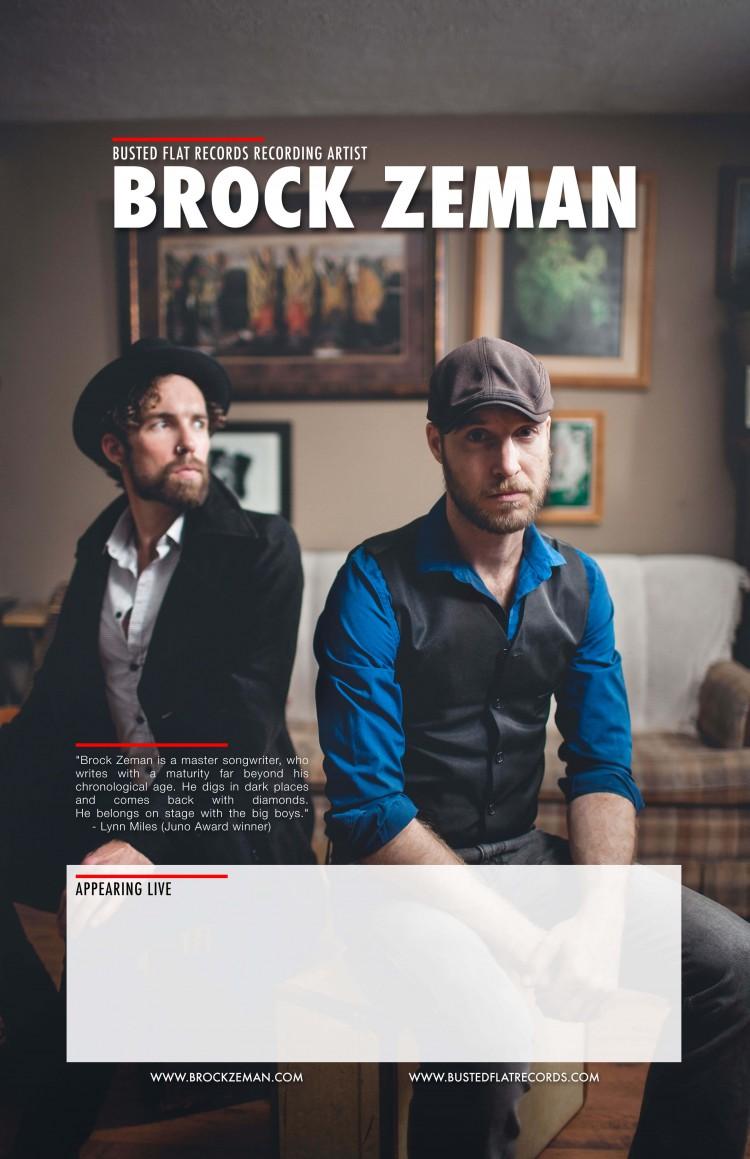 Brock-Zeman-Printable Show Poster